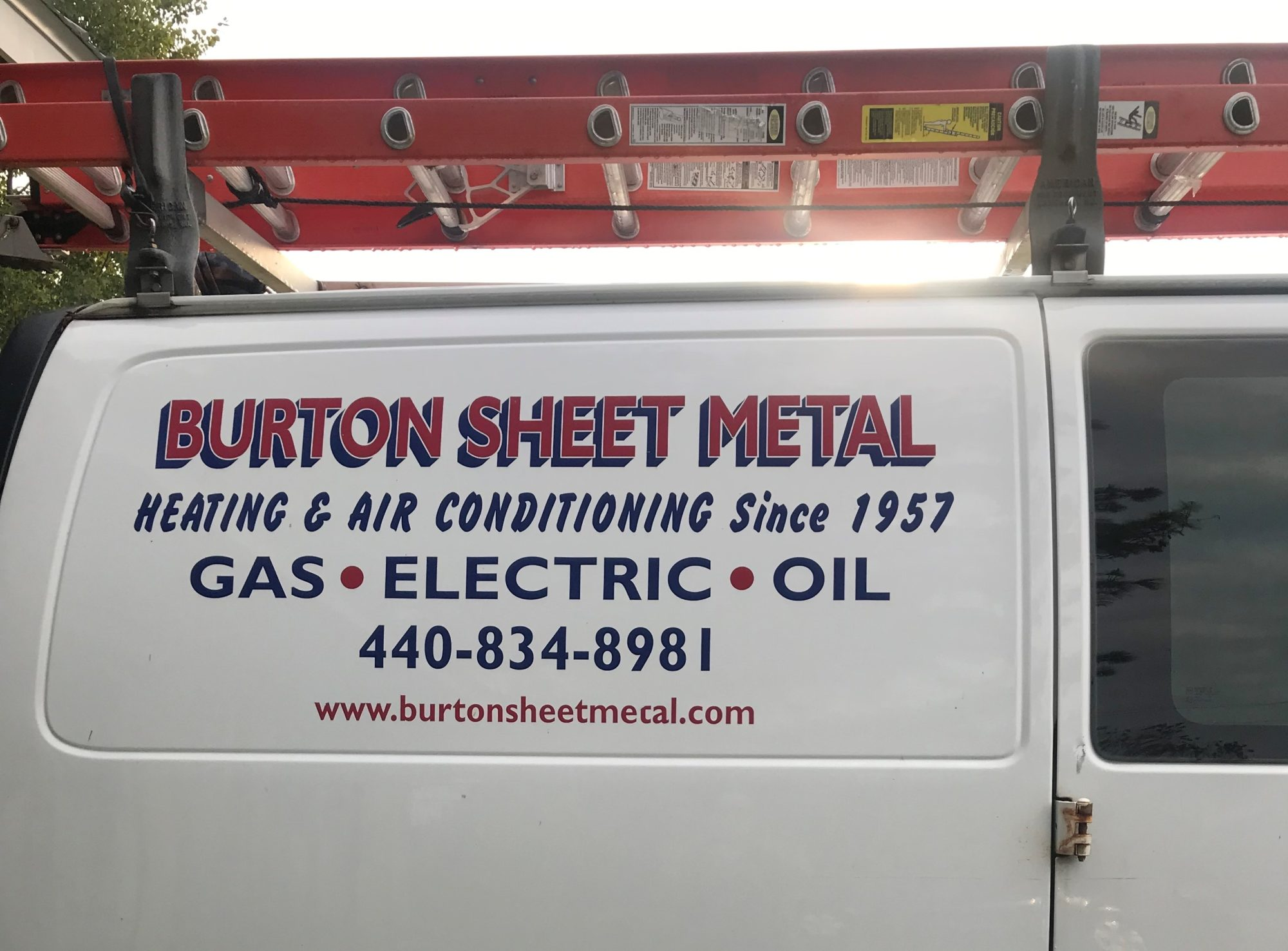 burton sheet metal truck